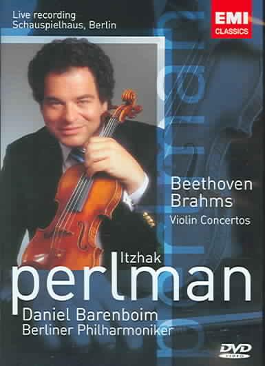 BRAHMS/BEETHOVEN:VIOLIN CONCERTO BY PERLMAN,ITZHAK (DVD)