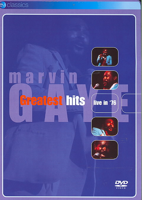 MARVIN GAYE GREATEST HITS LIVE IN 76 BY GAYE,MARVIN (DVD)
